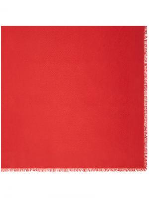 Шаль Signature Fendi. Цвет: красный