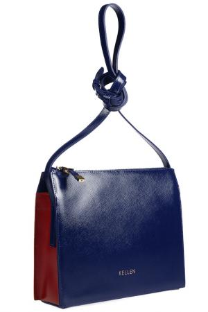 Сумка KELLEN. Цвет: синий, красный