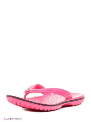 Пантолеты CROCS. Цвет: розовый