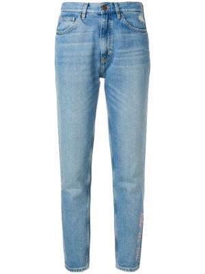 Джинсы Mimi Jean от Chloe Hill Mih Jeans. Цвет: синий