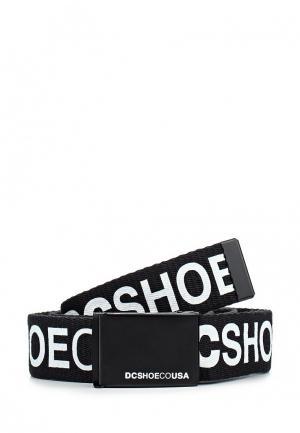 Ремень DC Shoes. Цвет: черный