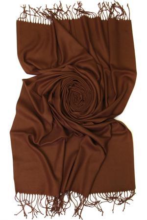 Палантин Frantelli. Цвет: молочный шоколад