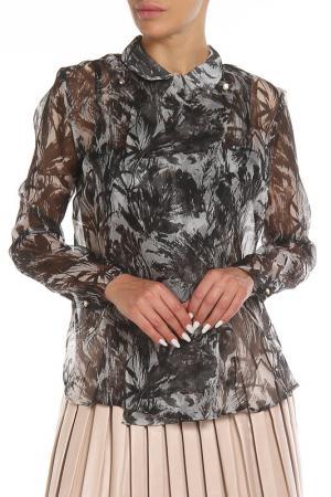 Блуза Costume National. Цвет: 910, multicol black черный