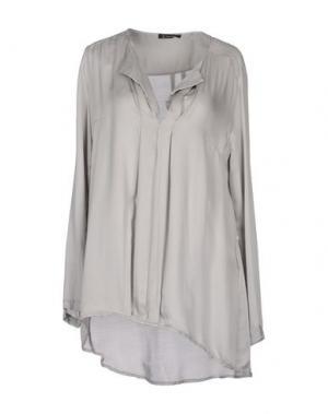 Блузка OLLY DOO. Цвет: светло-серый