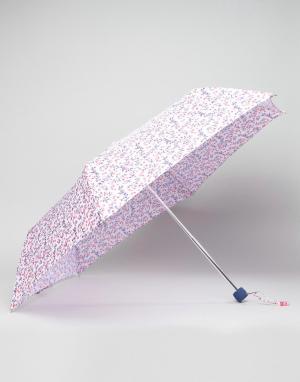 Cath Kidston Суперузкий зонт Fulton. Цвет: красный