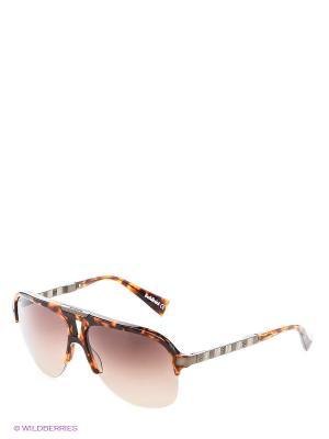 Солнцезащитные очки BLD 1412 202 Baldinini. Цвет: коричневый