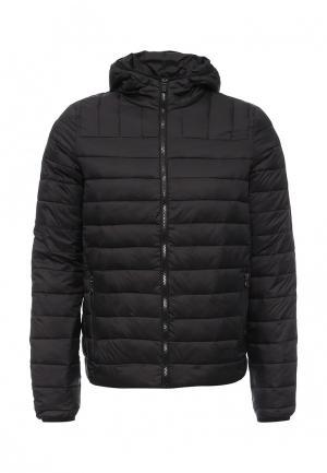 Куртка утепленная Fresh Brand. Цвет: черный