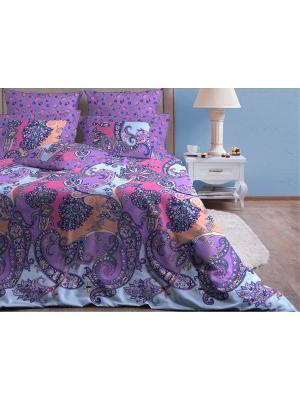 Полутороспальное постельное белье Хлопковый Край. Цвет: синий