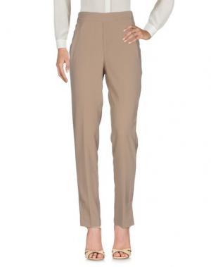 Повседневные брюки SISTE' S. Цвет: песочный