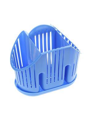 Подставка для столовых приборов Migura. Цвет: синий