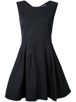 Расклешенное платье мини Guild Prime. Цвет: чёрный