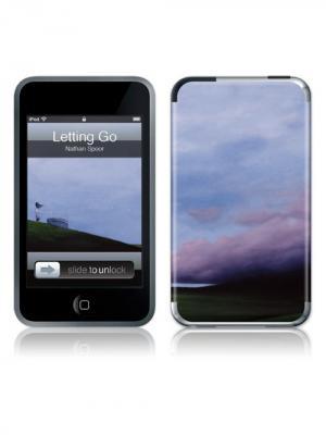 Наклейка Letting Go for 3G/3GS Kawaii Factory. Цвет: голубой, серый, черный
