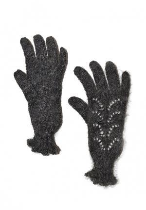 Перчатки ОренбургШаль. Цвет: серый