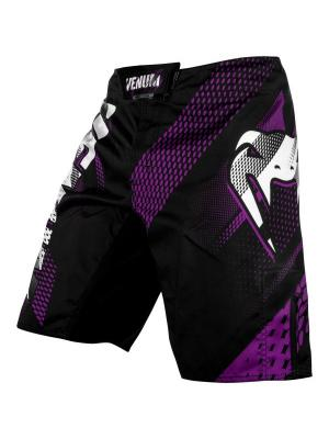 Шорты ММА Venum Rapid Black/Purple. Цвет: фиолетовый, черный