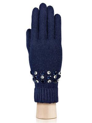 Перчатки Labbra. Цвет: темно-синий