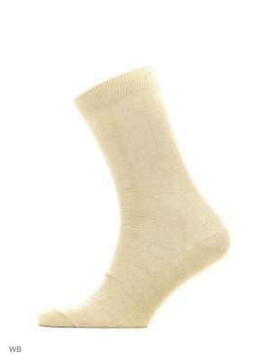 Носки, 4 пары Redestrella. Цвет: бежевый