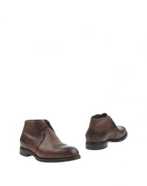 Полусапоги и высокие ботинки REGAIN. Цвет: хаки