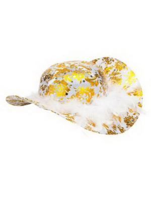 Шляпа карнавальная СНОУБУМ. Цвет: белый