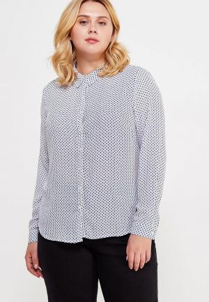 Блуза Violeta by Mango. Цвет: белый