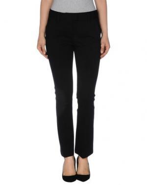 Повседневные брюки FABRIZIO LENZI. Цвет: черный