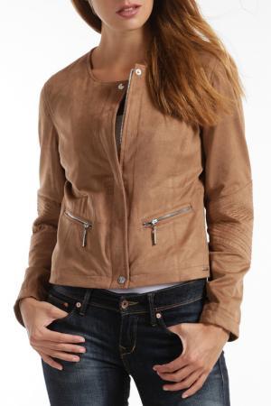 Куртка RINO & PELLE. Цвет: коричневый