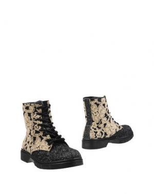Полусапоги и высокие ботинки 2STAR. Цвет: бежевый
