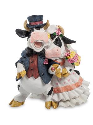 Фигура Коровы Жених и Невеста Sealmark. Цвет: белый