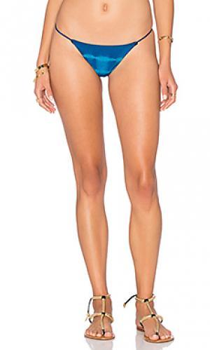 Минимальные плавки бикини Bettinis. Цвет: синий