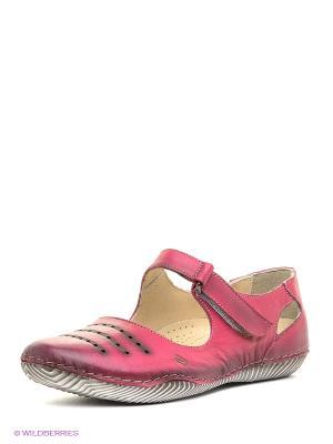 Балетки Atiker. Цвет: розовый