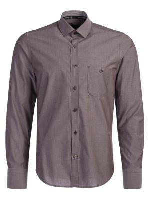 Рубашка Angelo Bonetti. Цвет: коричневый
