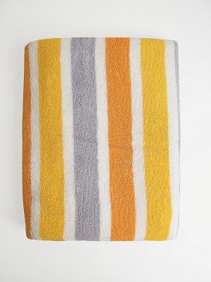 Полотенце A and C Collection. Цвет: оранжевый