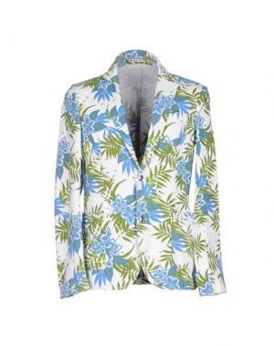 Пиджак FRADI. Цвет: белый