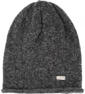 Вязаная трикотажная шапка Capo. Цвет: серый