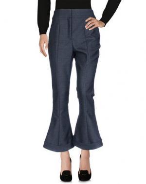 Повседневные брюки JACQUEMUS. Цвет: свинцово-серый