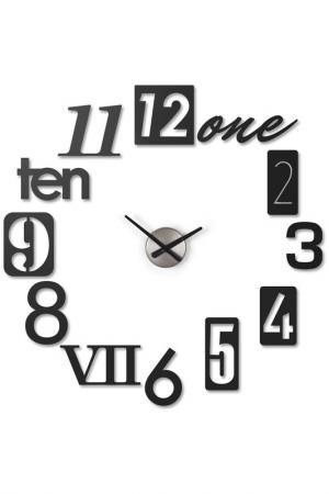 Настенные часы Numbra UMBRA. Цвет: черный
