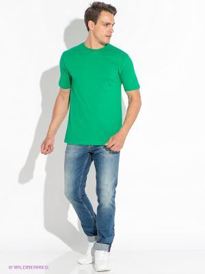 Футболка D.S. Цвет: зеленый