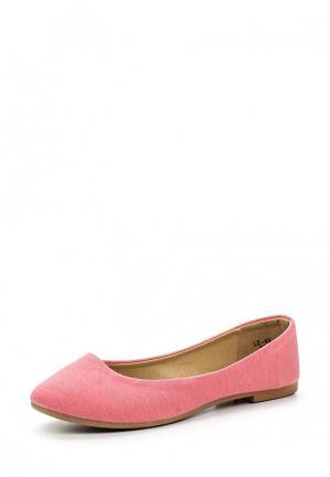 Балетки Sweet Shoes. Цвет: розовый