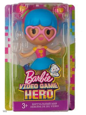 Маленькие куклы из серии Barbie и виртуальный мир. Цвет: синий, красный