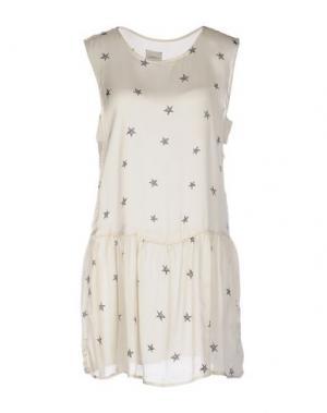 Короткое платье ..,MERCI. Цвет: слоновая кость
