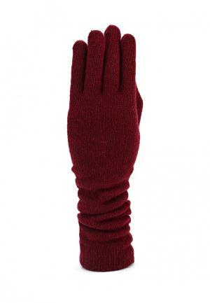 Перчатки Piazza Italia. Цвет: бордовый
