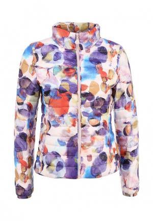 Куртка утепленная Minority. Цвет: разноцветный