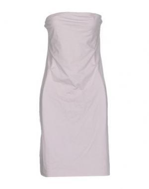 Короткое платье LIVIANA CONTI. Цвет: голубиный серый