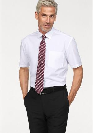 Комплект: рубашка + галстук STUDIO COLETTI. Цвет: бежевый, белый, темно-серый