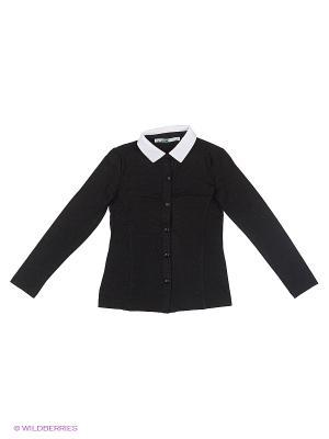 Блузка LIK. Цвет: черный, белый