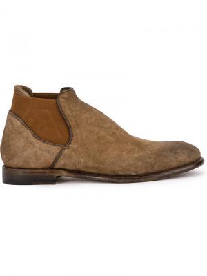 Ankle length boots Silvano Sassetti. Цвет: телесный