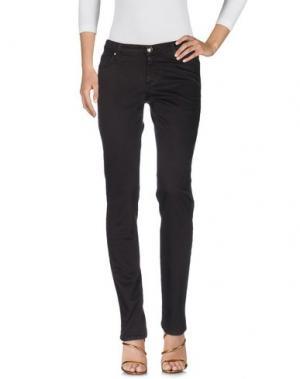 Джинсовые брюки ROŸ ROGER'S CHOICE. Цвет: темно-коричневый