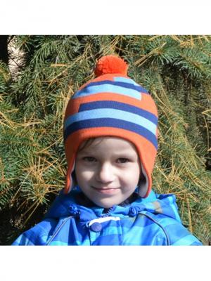 Шапка-ушанка STELLA'S KIDS. Цвет: оранжевый