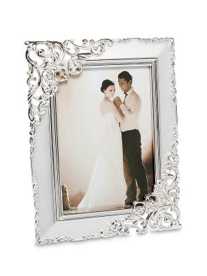 Фоторамка Волшебный поцелуй 9*13 Bellezza casa. Цвет: серебристый