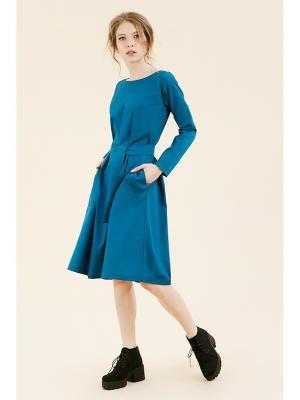 Платье №5 морская волна (KW3) (M (44-46)) MONOROOM