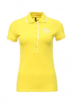 Поло Baon. Цвет: желтый